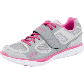 Giro Whynd Chaussures Femme, silver/rhodamine red